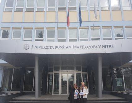 Delegácia profesorov z Kyjeva v Nitre