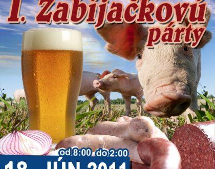 1. Zabíjačková párty 2011