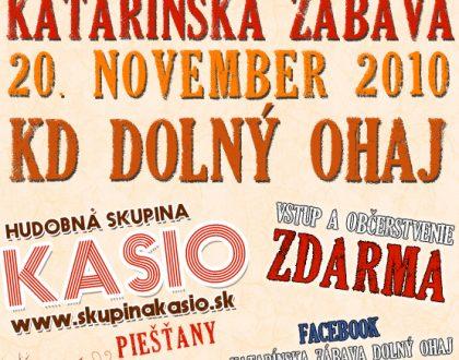 Katarínska zábava 2010