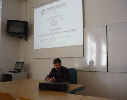 Riaditeľ agentúry prednášal študentom UMB