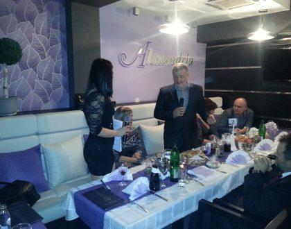 EEDA n.o. ako sponzor humanitného večierka, Srbsko