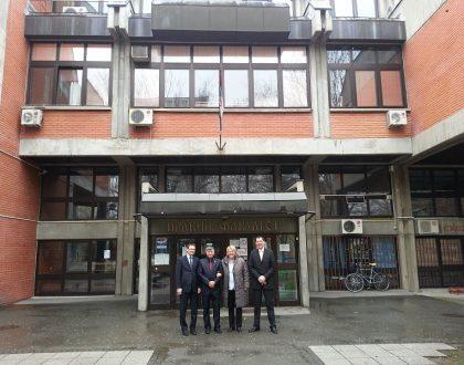 Návšteva Fakulty práva v Novom Sade, Srbsko
