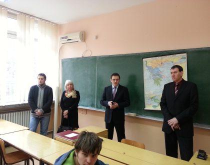 Návšteva slovenského gymnázia v Kovačici, Srbsko