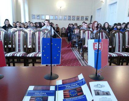 Návšteva slovenského gymnáziav Bačskom Petrovci, Srbsko