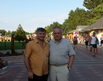 Primator mesta Rivne Ukrajina v Podhajskej
