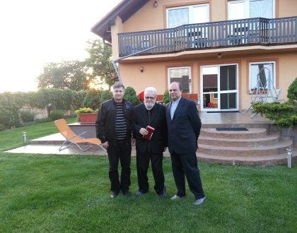 Vzácna návšteva v EEDA n.o. Podhájska