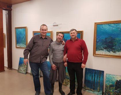 """Druhá výstava obrazov """"Mosty - umenie ktoré spája"""""""