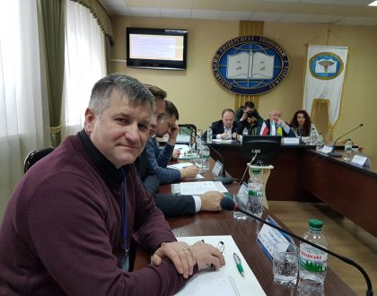 Konferencia v meste Poltava, Ukrajina