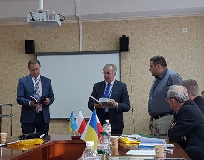 Konferencia v meste Slavynsk, Ukrajina