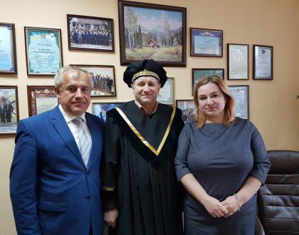 Nadviazanie spolupráce s Univerzitou štátnej finančnej služby, Ukrajina