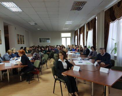 Náučný seminár v novej škole v Kyjeve, Ukrajina