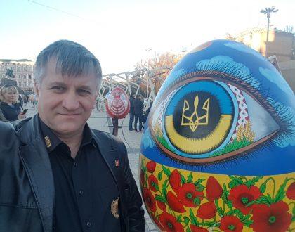 Návšteva mesta Kyjev, Ukrajina