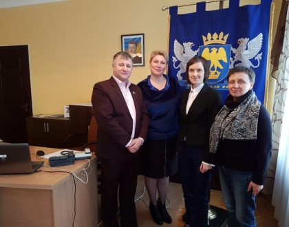 Návšteva ukrajinského mesta Sokal a Červenograd s partnermi z Poznane