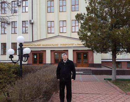 Návšteva univerzity v meste Ivano Frankovsk, Ukrajina