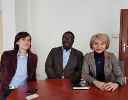 Podpísanie spolupráce s VŠ Poznaň, Poľsko