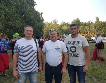 Stretnutie s mladými kozákmi v Záporoží