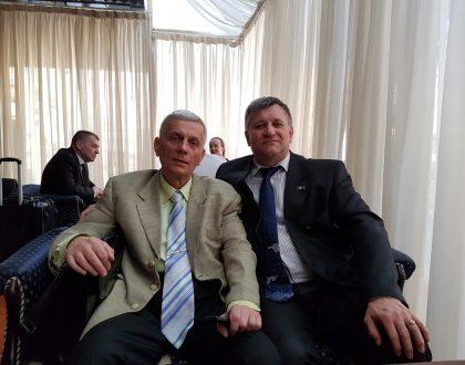 Stretnutie s partnermi z univerzít Kyjeva a Slaviansk v meste Kyjev