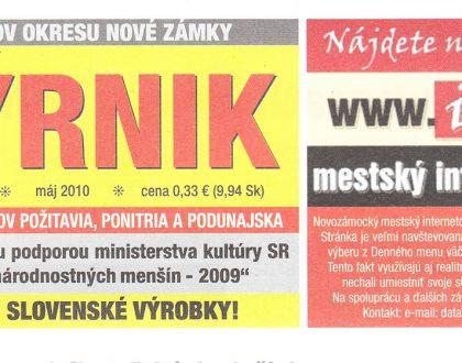 Regionálne noviny o riaditeľovi agentúry