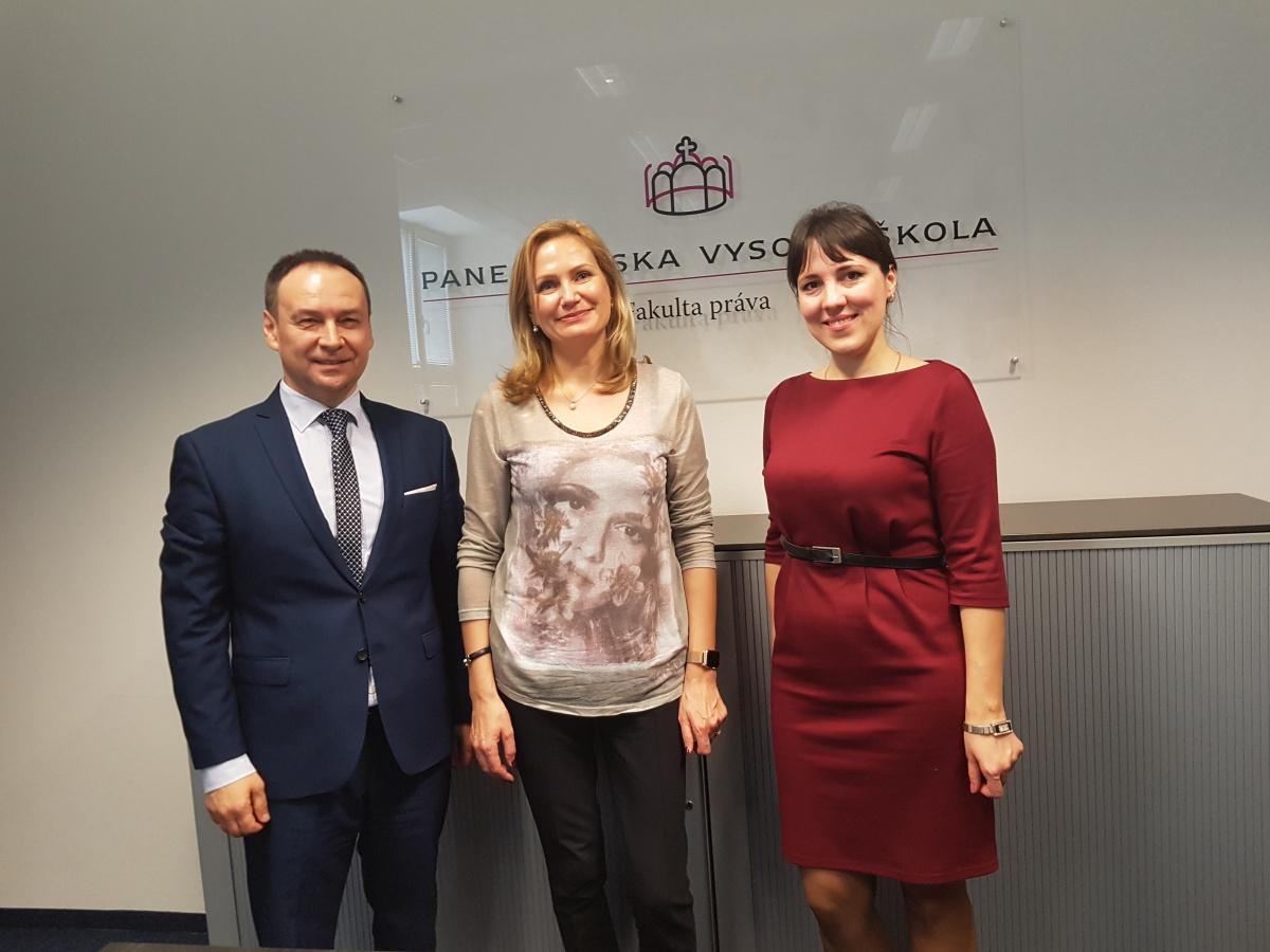 Delegácia z Národnej akadémie prokuratúry Ukrajiny