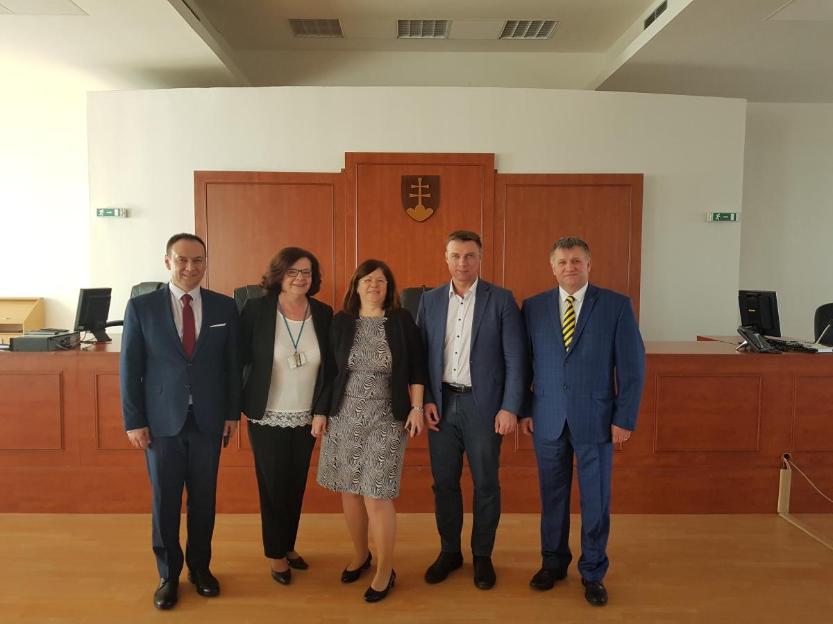 Delegácie z Národnej Akadémie prokuratúry Ukrajiny v Justičnej akadémií SR