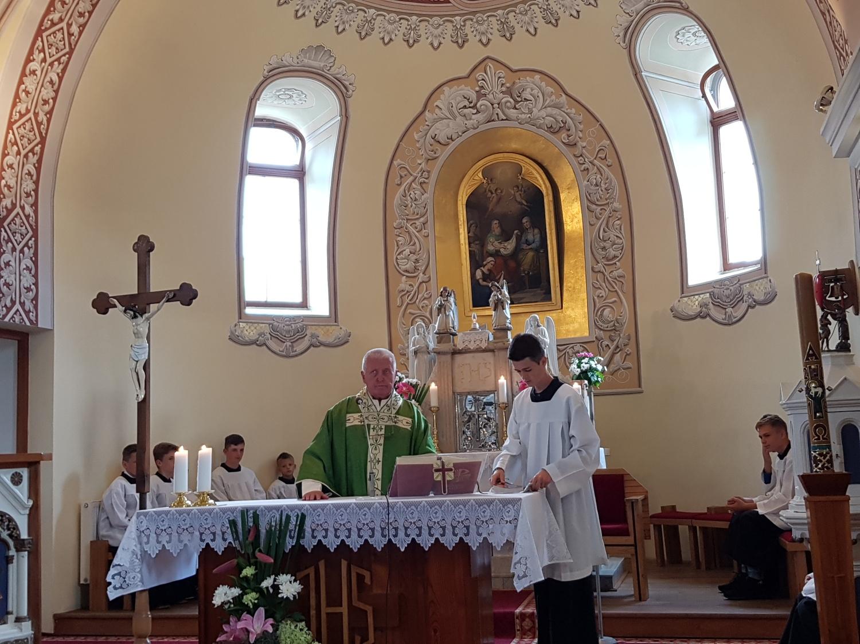 Stretnutie s kňazmi v Omšení
