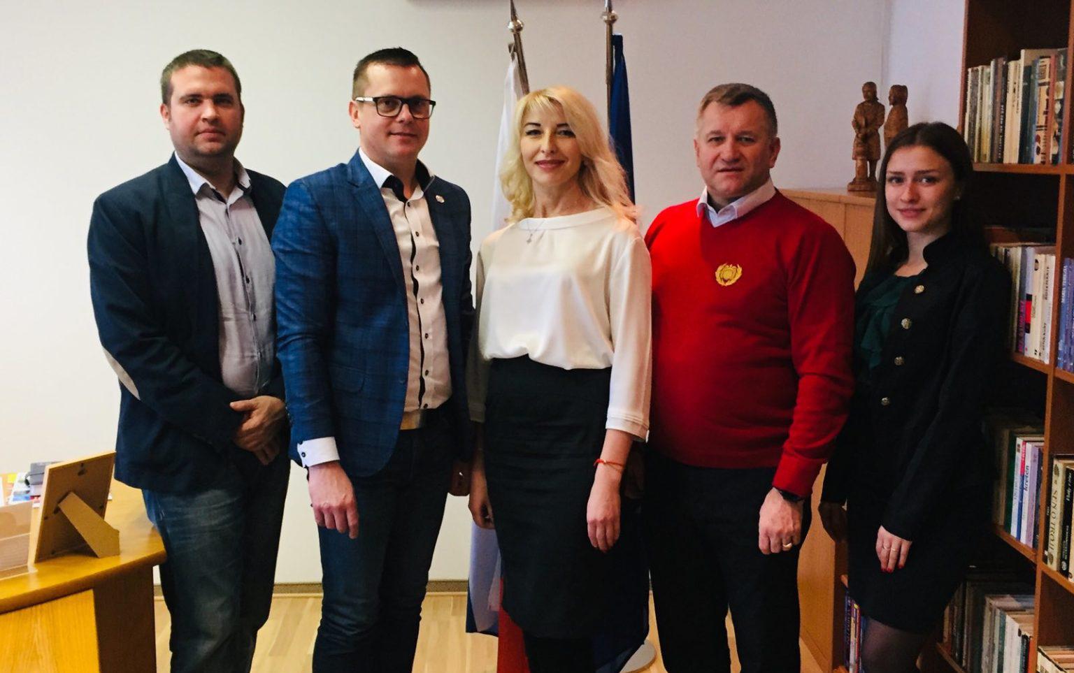 Návšteva partnerov z Rivne (Ukrajina) na Slovensku