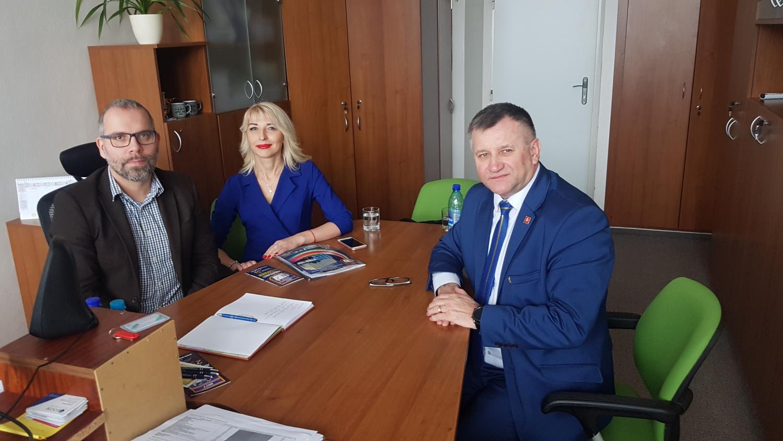 Delegácia z Ukrajiny zavítala na Poľnohospodársku univerzitu v Nitre
