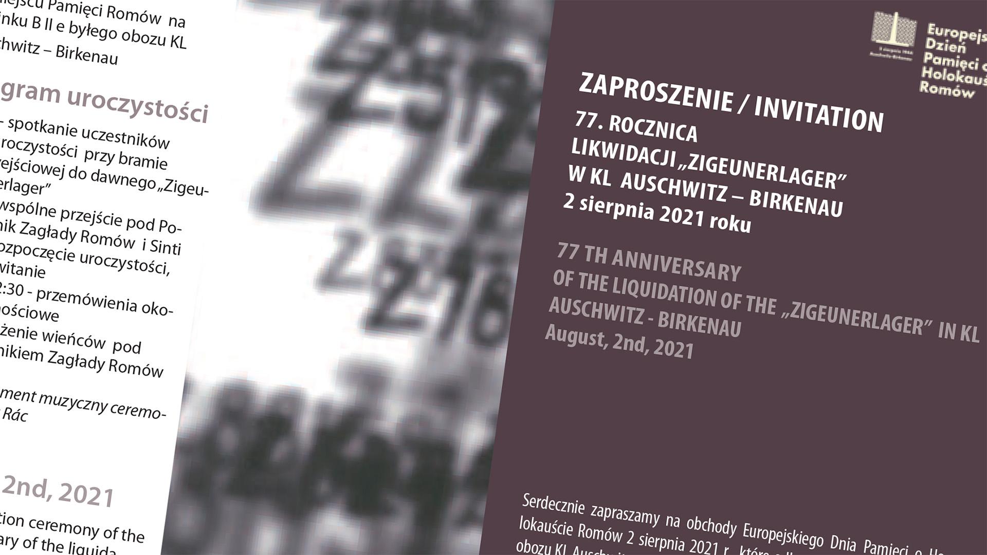 Deň pamiatky 77. výročia Holokaustu Rómov v Auschwitz - Birkenau